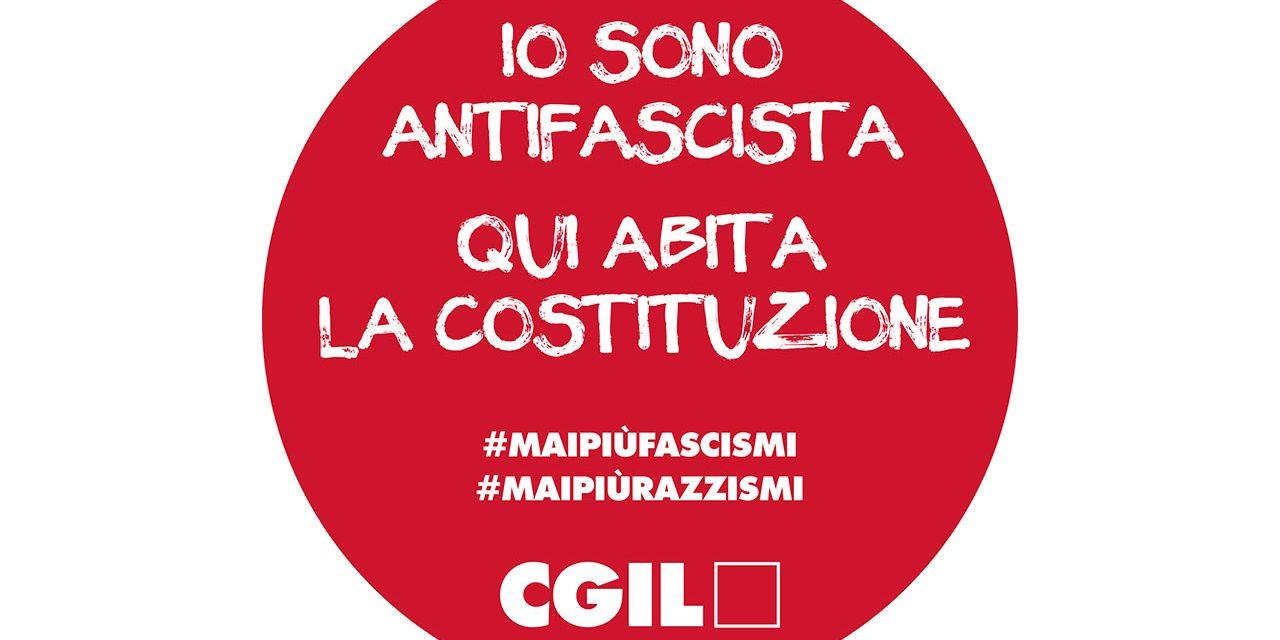 Provocazione fascista alla Cgil di Modena e Reggio