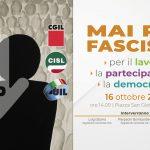 Mai più fascismi: il 16 ottobre in piazza