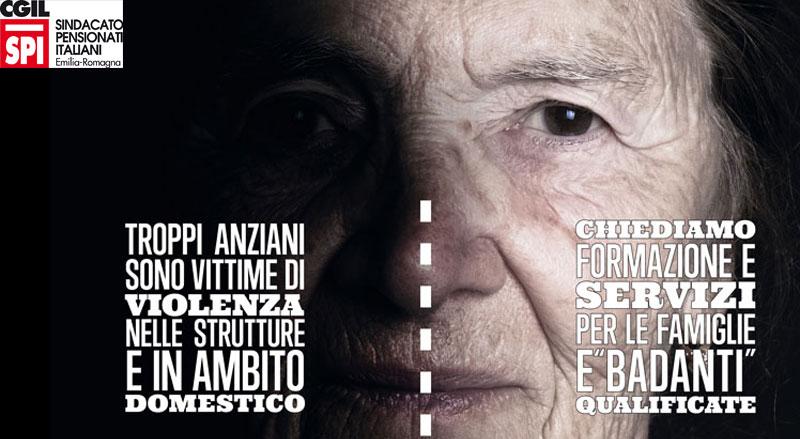 Violenze sugli anziani: Spi-Cgil parte civile